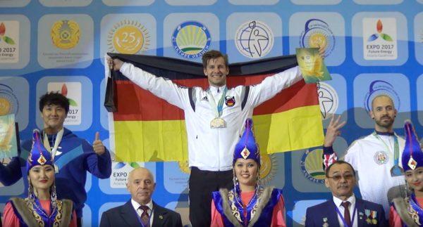 Kettlebell Weltmeisterschaft und Gold für Deutschland