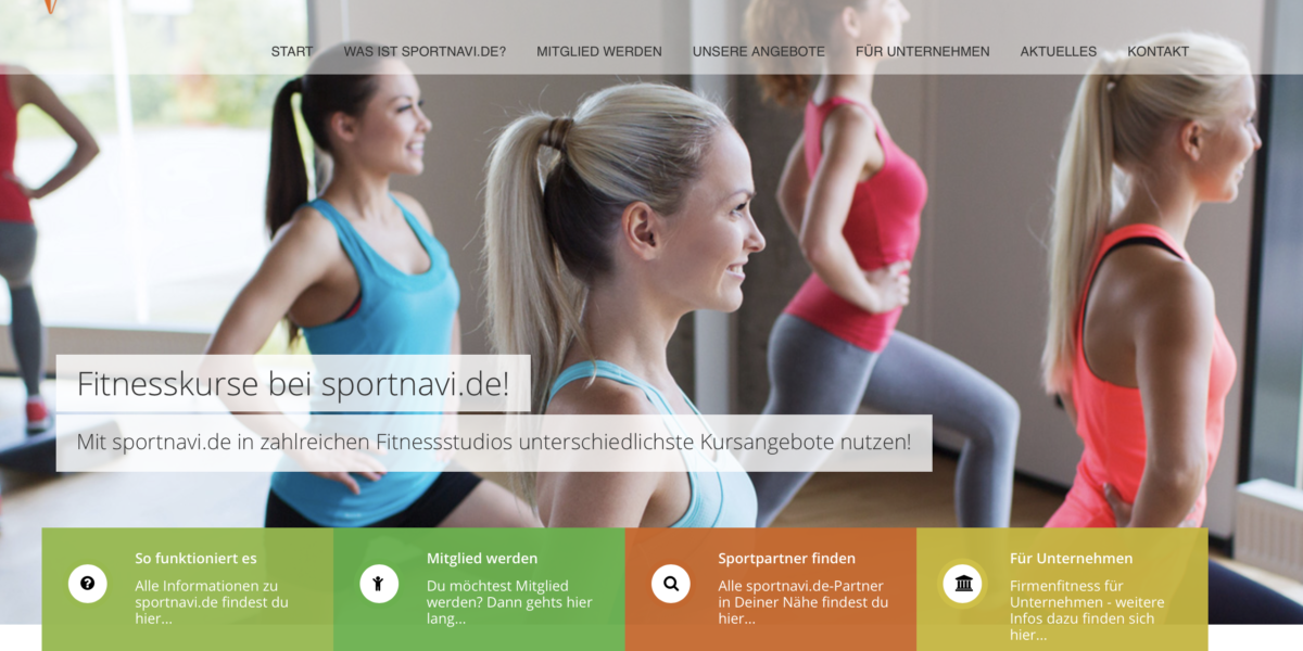 Kooperation mit sportnavi.de