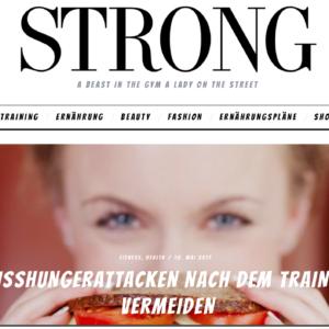 Das Strong Magazine ist der Fitnessblog für Frauen