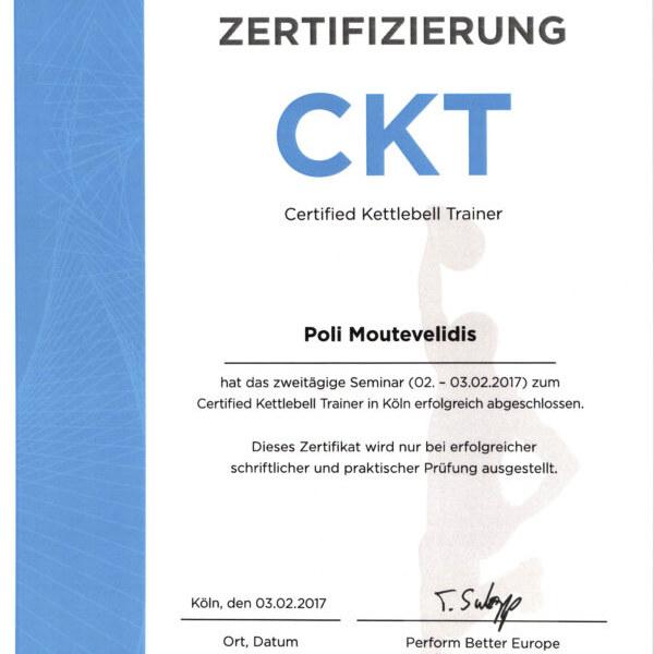 Die Certified Kettlebell Trainer Ausbildung von perform better