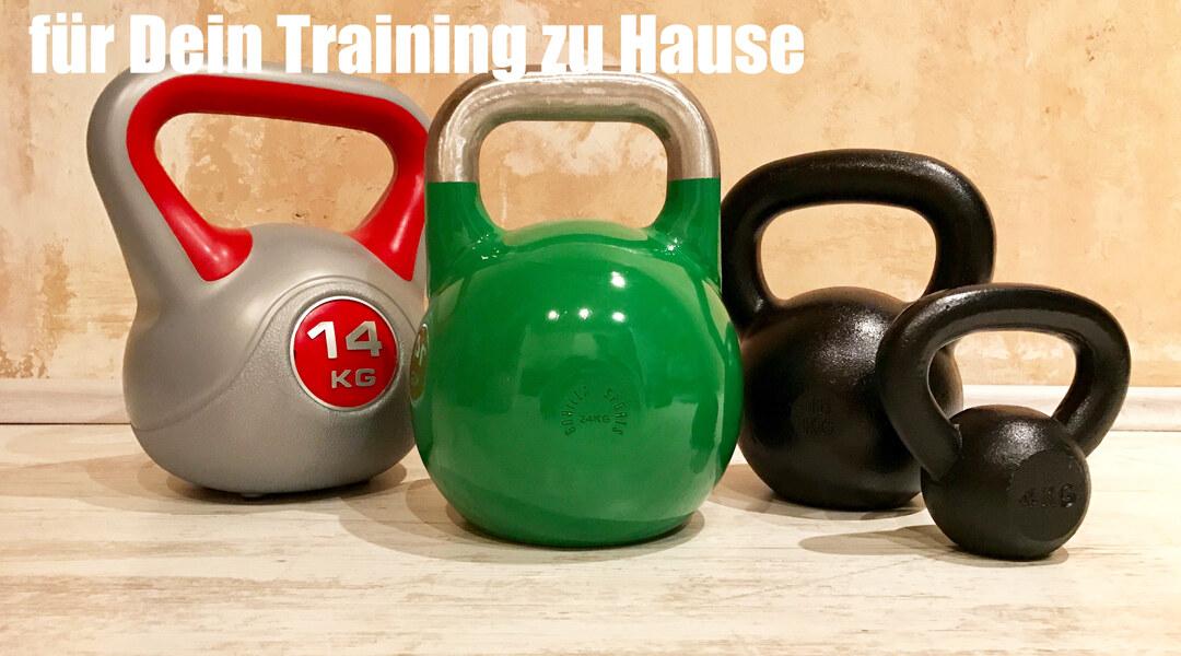 Dein Kettlebell Training für zu Hause