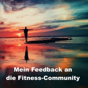 Mein feedback an die Fitness-Podcast-Community