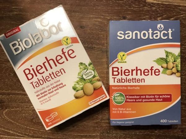 Mengenunterschiede der B-Vitamine verschiedener Hersteller