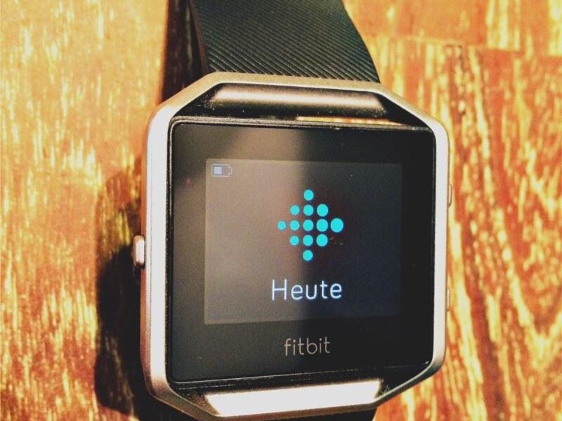 Fitbit Blaze – Produkttest