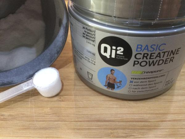 Kreatin Monohydrat sorgt für den Powerschub bei Deinem Training