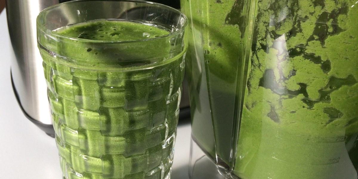Der Weg des grünen Smoothie