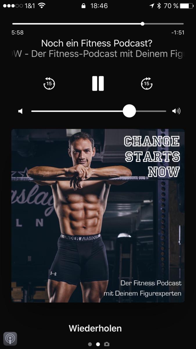 Podcast anhören auf dem iPhone