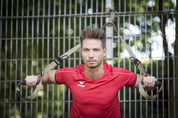 Sebastian Pannek beim Personal Training