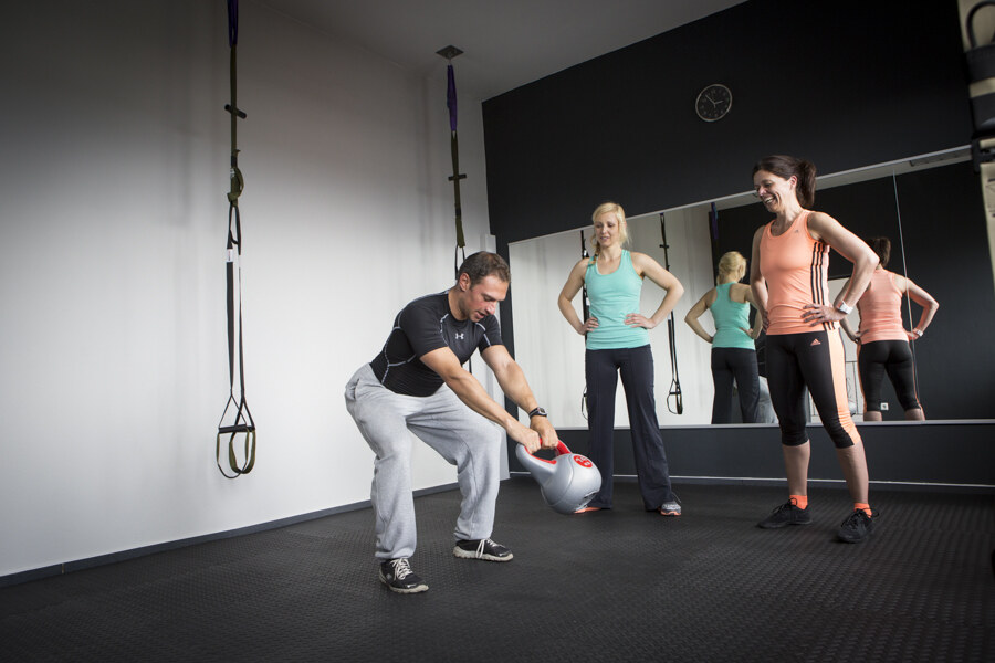 Kettlebellworkshop in der Crossfitbox
