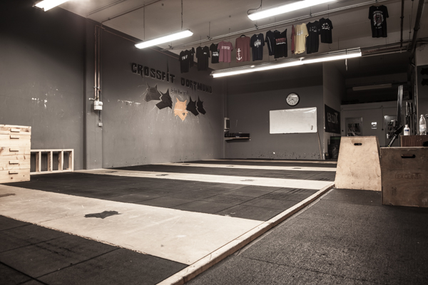 Training in der Crossfit Box