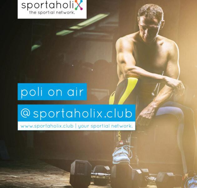 poli on air @ sportaholix.club – Mein Business-Podcast ist online