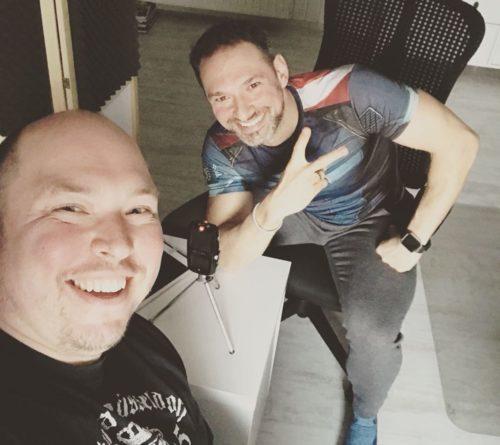 Figurexperte trifft Podcast-Held