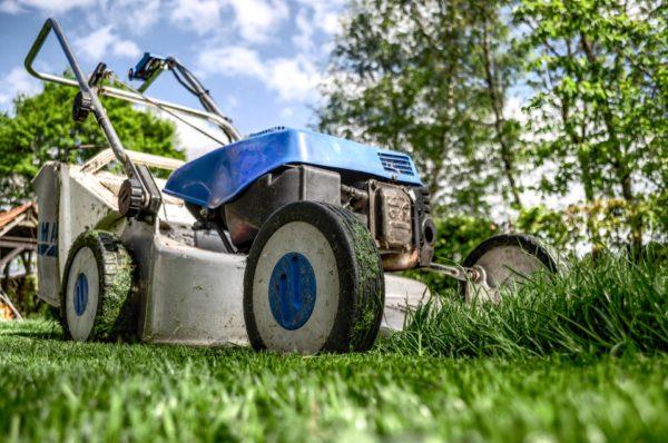 Fitness bei der Gartenpflege