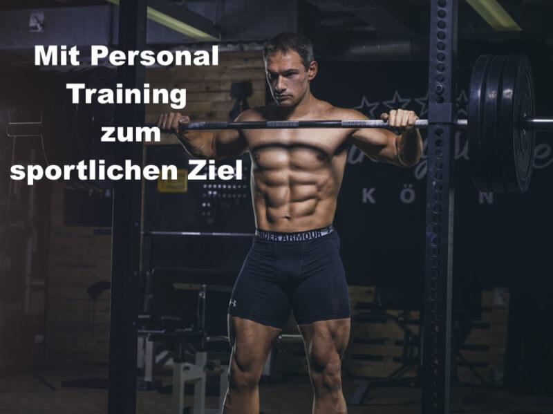 Wieso Dich Personal Training schneller ans Ziel bringt