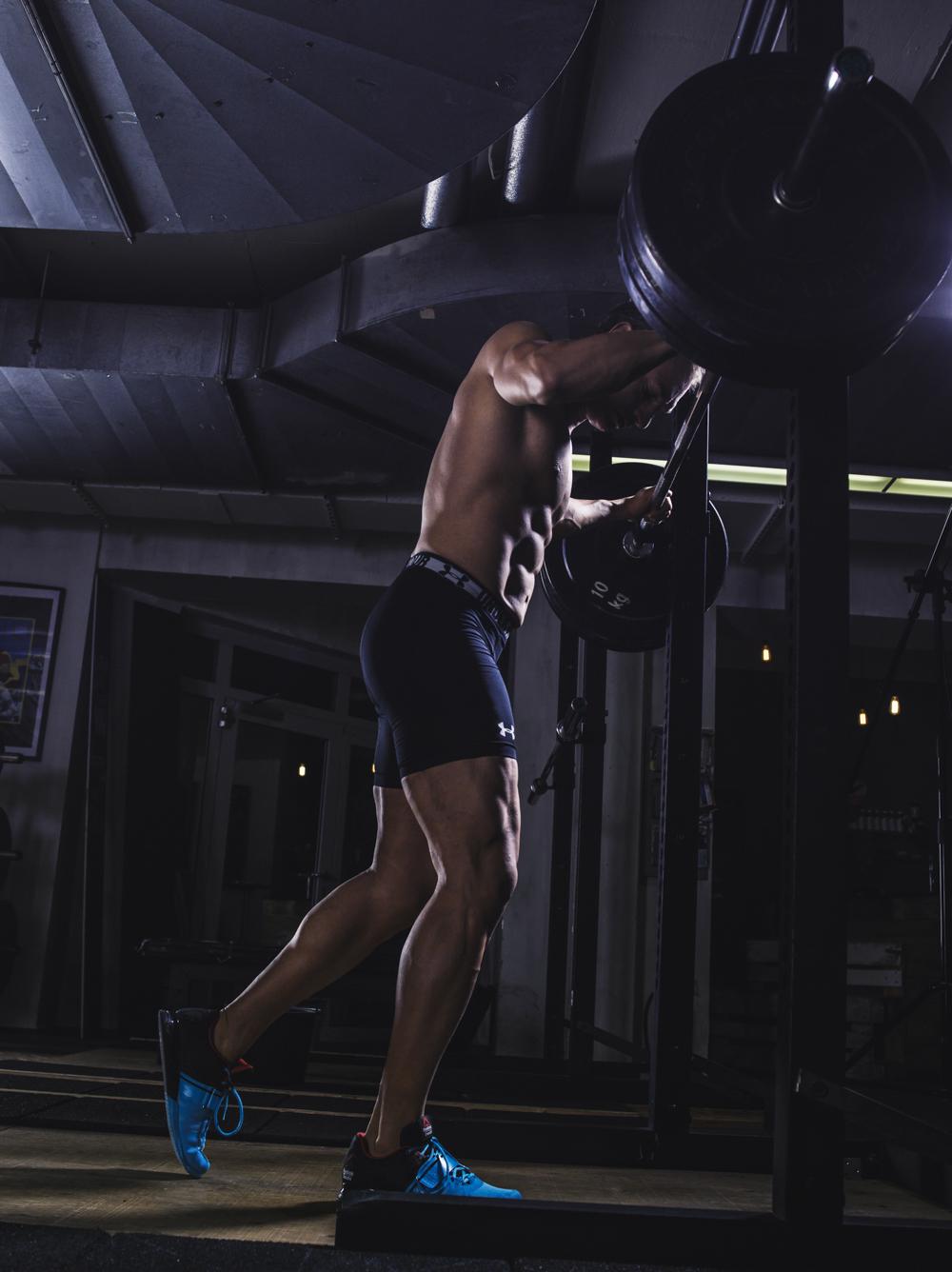 Bring die Leistung im Training, auch im nächsten Training