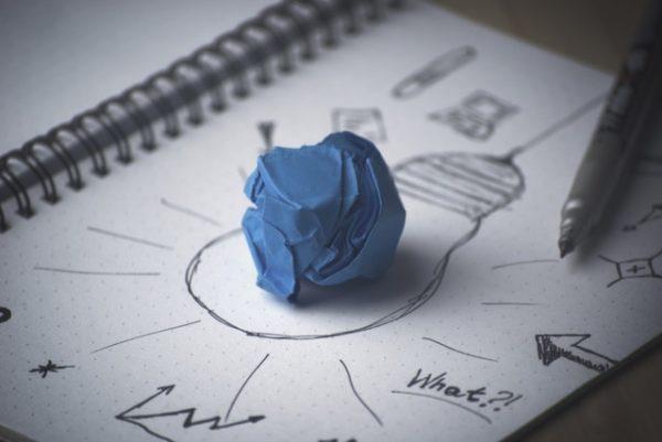 Entwickle täglich Ideen