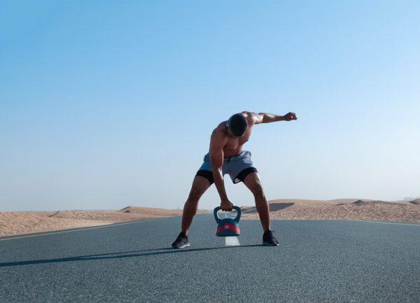 Training der Willenskraft mit der Kettlebell