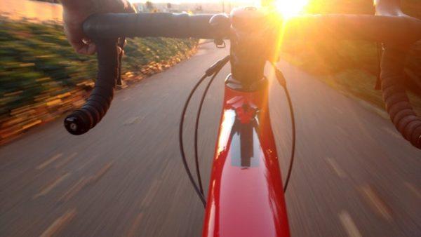 Fitness auf dem Fahrrad