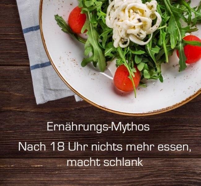 Nach 18 Uhr nichts mehr essen – Ernährungs-Mythos oder Quark mit Sauce?