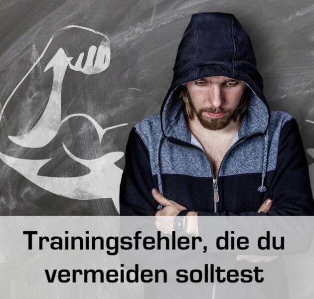 Die größten Trainingsfehler beim Krafttraining und dem Muskelaufbau