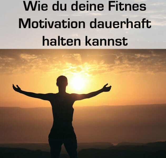 Bodybuilding und Fitness Motivation