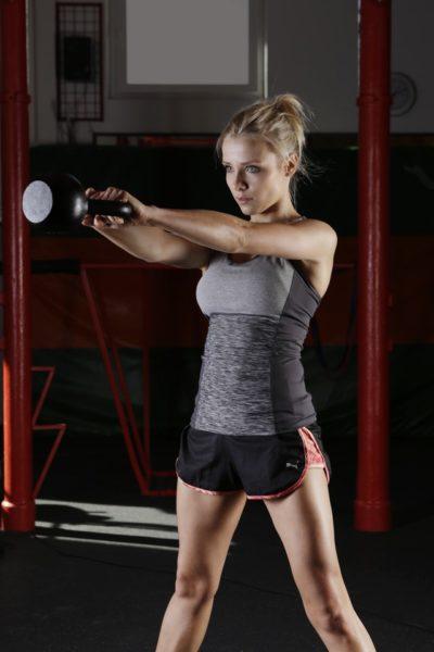 Körperfettreduktion mit Kettlebell-Training
