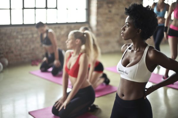 die perfekte Trainingsmusik beim Groupfitness Kurs