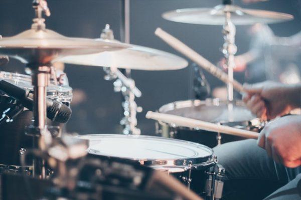 Schlagzeug für die Topform