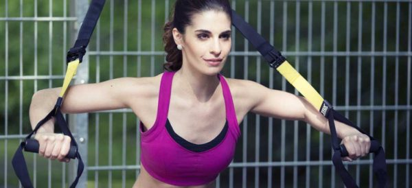 TRX Training der Hit beim functional training