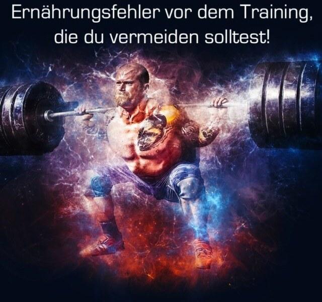 Ernährungsfehler vor dem Training, die du vermeiden solltest